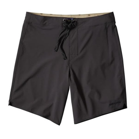Patagonia Men's Light and Variable 18 inch board shorts ink black