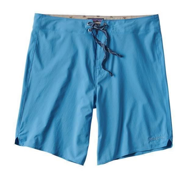 Patagonia Men's Light and Variable 18 inch board shorts radar blue