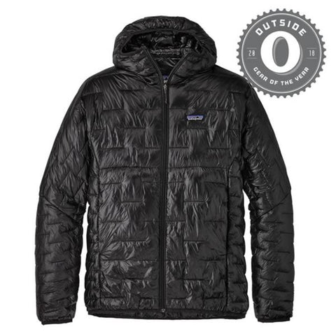 Patagonia Men's Micro Puff Hoody Jacket - ultralight windproof insulated jacket