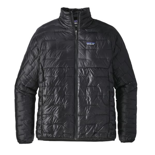 Patagonia Mens Micro Puff Jacket Lightweight Synthetic Jacket black