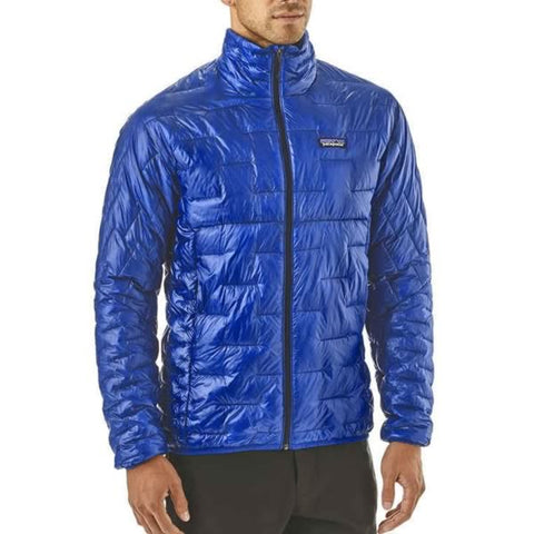 Patagonia Mens Micro Puff Jacket Lightweight Synthetic Jacket in use front view