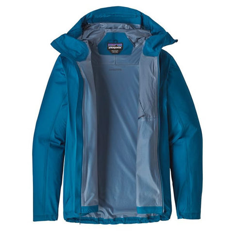 Patagonia Men's Storm Racer Ultralight Waterproof Windproof Breathable Trail Running Jacket Black