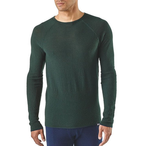 Patagonia Men's Capilene Air Crew Thermal Top - Merino Blend Thermal Underwear