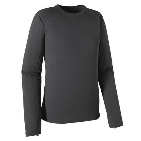 Patagonia Men's Capilene Lightweight Crew Long Sleeve Thermal Top - Thermal Underwear forge grey