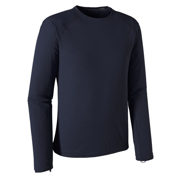 Patagonia Men's Capilene Lightweight Crew Long Sleeve Thermal Top - Thermal Underwear navy blue