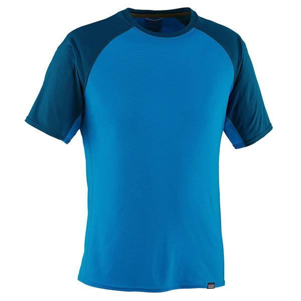 Patagonia Men's Capilene Lightweight T-Shirt andes blue