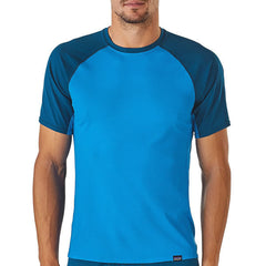 Patagonia Men's Capilene Lightweight T-Shirt in use front view