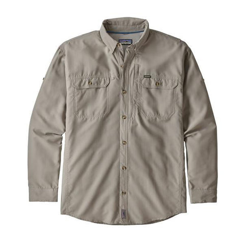 Patagonia Men's Sol Patrol II Long Sleeve Shirt Drifter Grey