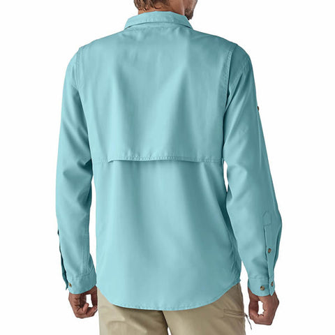 Patagonia Men's Long Sleeve Sol Patrol II Travel Shirt, 30 UPF - Seven Horizons