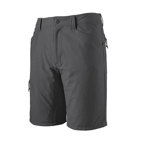patagonia mens quandary shorts 10 inch forge grey