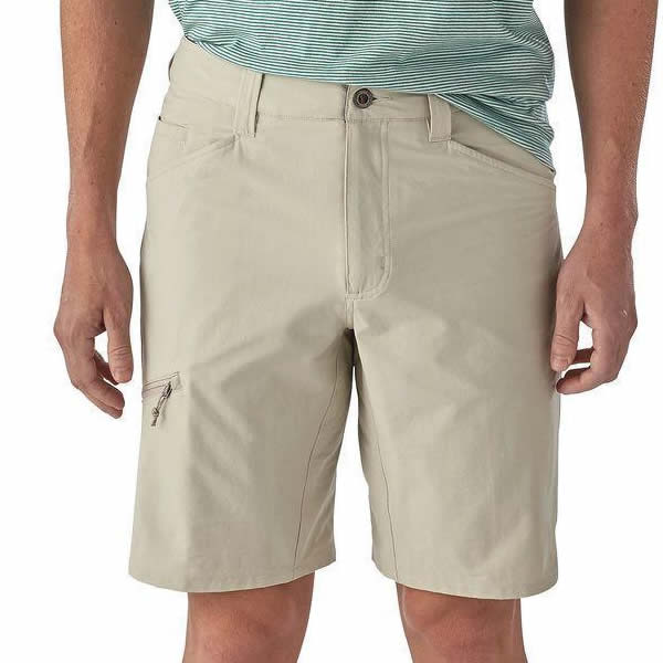 "Patagonia Men's Quandary Shorts 10"" front view Pelican"