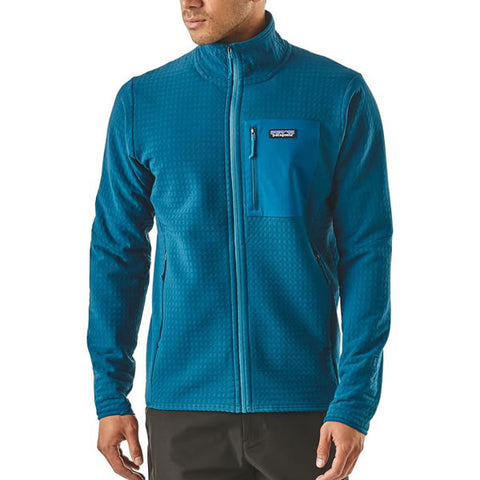 Patagonia Men's R2 TechFace Full-Zip Midlayer Fleece Jacket