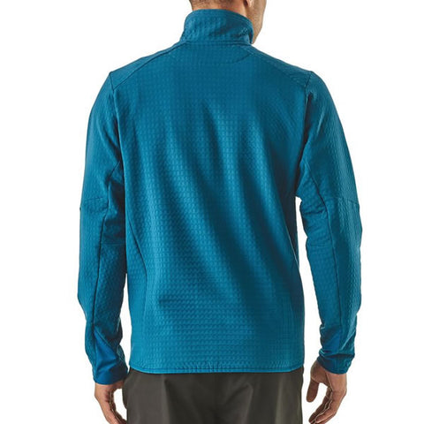 Patagonia Men's R2 TechFace Fleece Full Zip Jacket rear View