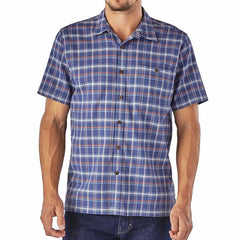 Patagonia Men's Short Sleeve A/C Summer Shirt, finely woven organic cotton - Seven Horizons