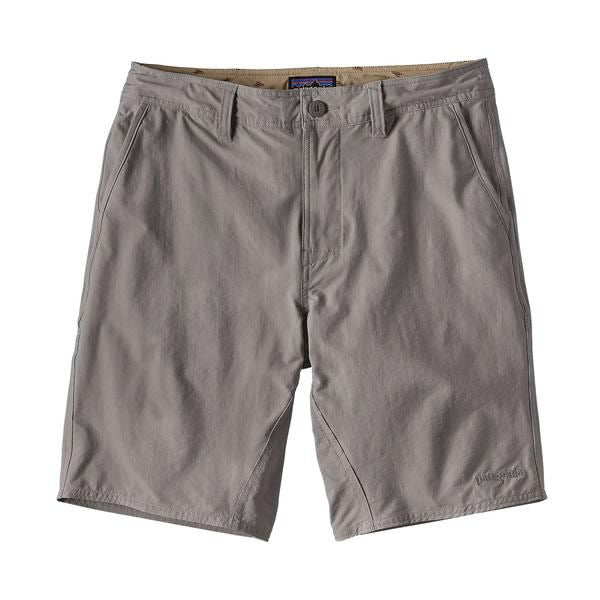 Patagonia Mens stretch wavefarer walk shorts 20 inches feather grey
