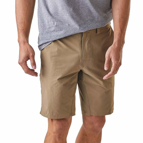 Patagonia Mens stretch wavefarer walk shorts 20 inches front view