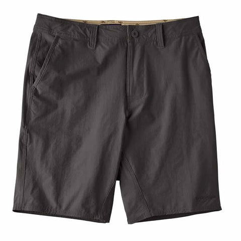 Patagonia Mens stretch wavefarer walk shorts 20 inches ink black