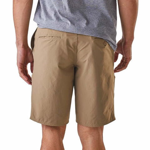 Patagonia Mens stretch wavefarer walk shorts 20 inches rear view