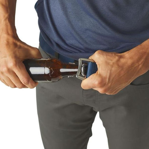 Patagonia Tech Web Belt bottle opener