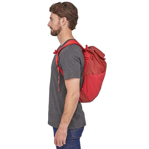 Patagonia Ultralight Black Hole Packable Daypack in use side view