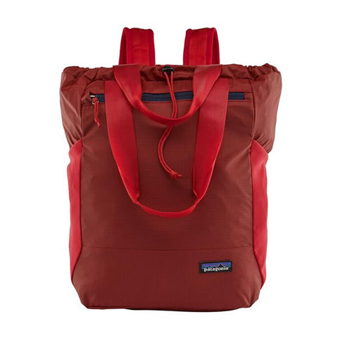 Patagonia Ultralight Black Hole Tote Pack Rincon Red