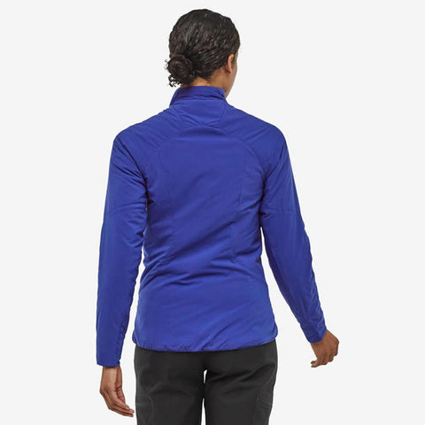 Patagonia Women's Nano Air Jacket rear view in use