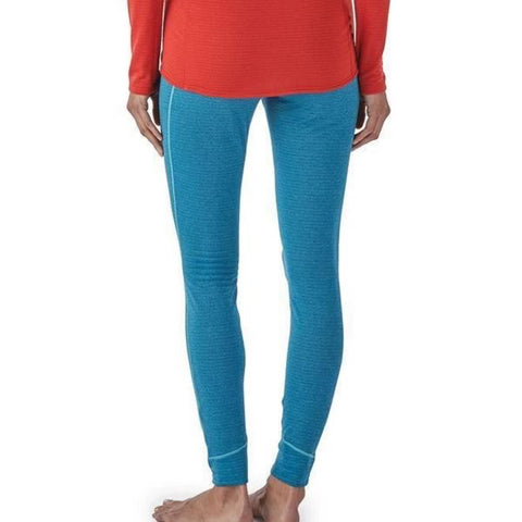 Patagonia Womens Capilene Thermal Weight Bottoms in use front view