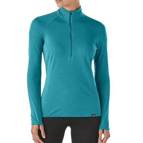 Patagonia Women's Capilene Thermal Weight Zip Neck Top - Long Sleeve Thermal Top