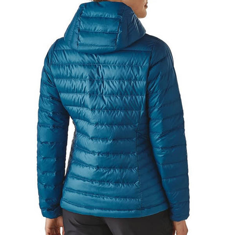 Patagonia Women's Down Sweater Hoody Jacket - 800 Fill Power rear view