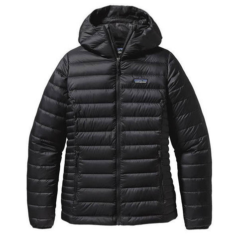 Patagonia Women's Down Sweater Hoody Jacket - 800 Fill Power black