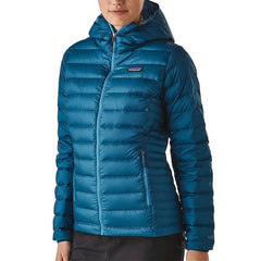 Patagonia Women's Down Sweater Hoody Jacket - 800 Fill Power front view
