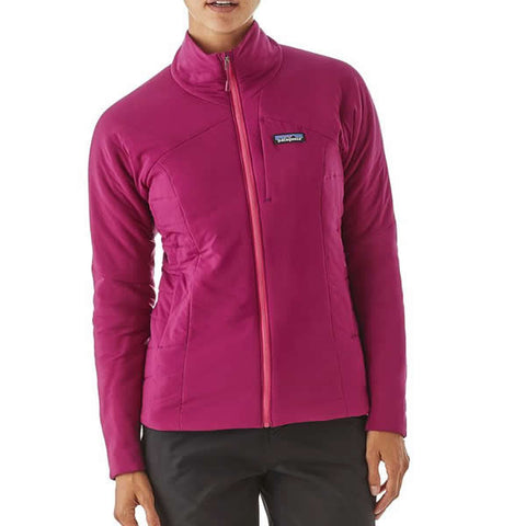 Patagonia Women's Nano Air Jacket Latest Model front view in use 84256