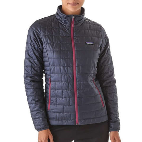 Patagonia Women's Nano Puff Windproof Insulated Jacket in use