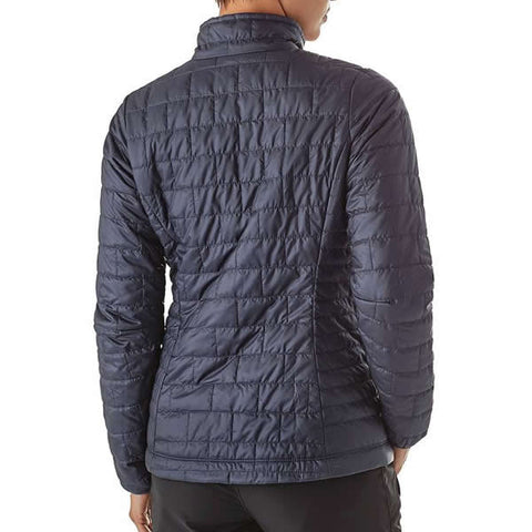 Patagonia Women's Nano Puff Windproof Insulated Jacket in use rear view