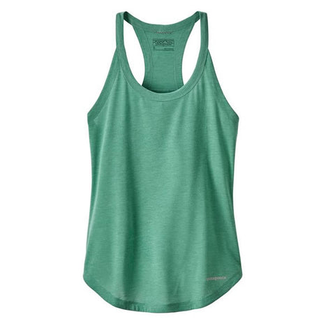 Patagonia Women's Nine Trails running Tank Top beryl green