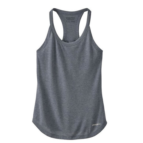 Patagonia Women's Nine Trails Tank Top Running Top- Quick-Dry Tank Top