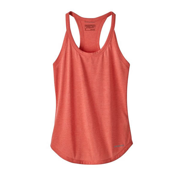 Patagonia Women's Nine Trails running Tank Top tomato
