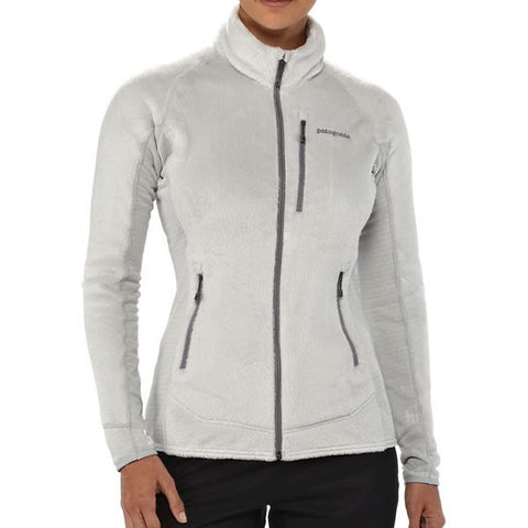 Patagonia Womens R2 Regulator Fleece Jacket Front View in use