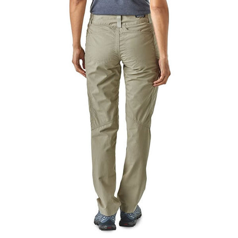 Patagonia Women's Venga Rock Pants in use rear view