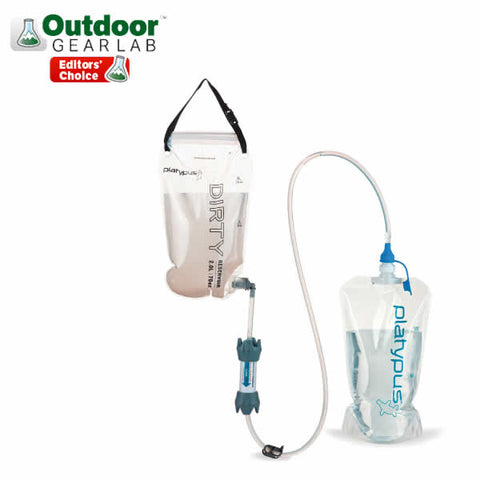 Outdoor Gear Lab Editors Choice Award Platypus Gravity Works 2.0 Litre Filter