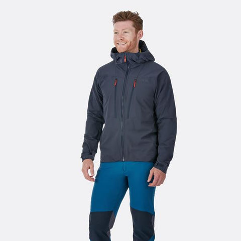 Rab Torque Jacket in use front view