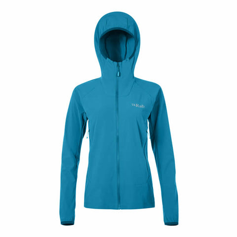 Rab Women's Borealis Softshell Hoody in use Amazon Outdoor Gear Lab Best Buy Award