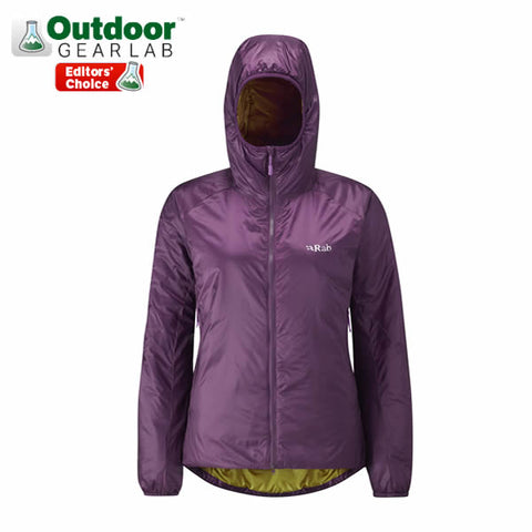 Rab Women's Xenon X Hoody Insulated Jacket Outdoor Gear Lab Editor's Choice Award
