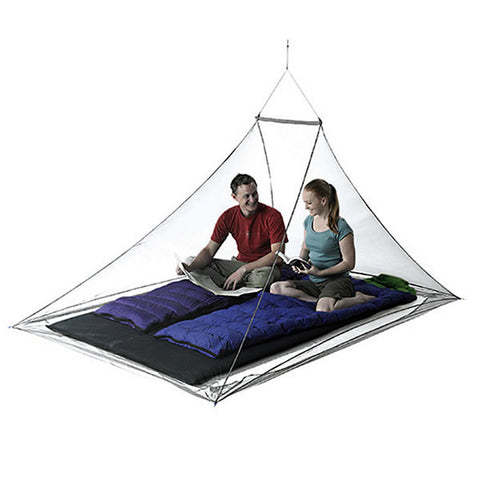 Sea to Summit Nano Ultralight Mosquito Net - Double Person Pyramid