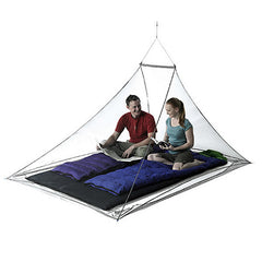 Sea to Summit Nano Ultralight Mosquito Net - Double Person Pyramid - Seven Horizons