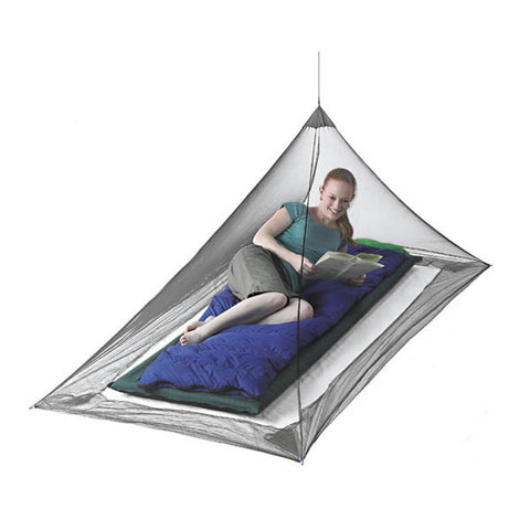 Sea to Summit Nano Ultralight Mosquito Net - Single Person Pyramid - Seven Horizons