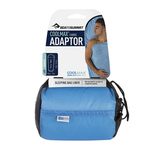 Sea to Summit Coolmax Sleeping Bag Liner packet