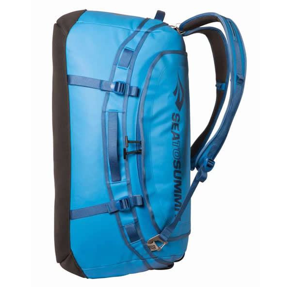 f6f0b2f43c82 ... Sea to Summit Nomad Expedition Duffle Bag 45 Litres Blue shoulder  straps ...