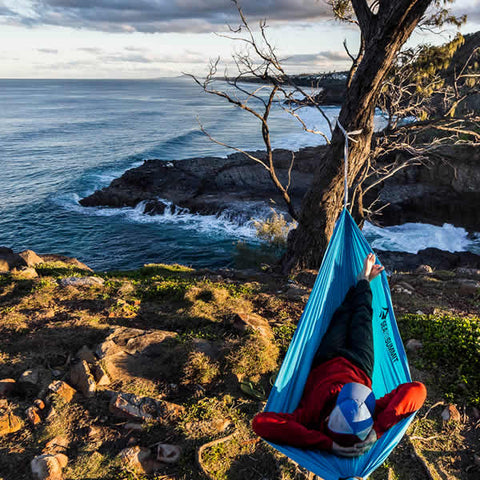 Sea to Summit pro Hammock Double Hammock in use