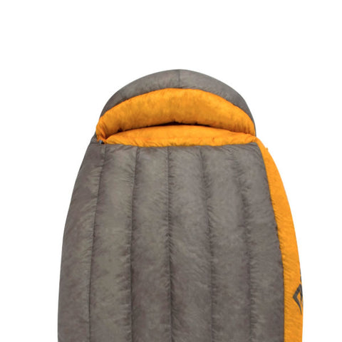 Sea to Summit Spark 4 down Sleeping Bag -15 Degrees hood view